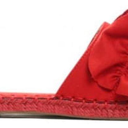 Dámské červené pantofle Aurelie 9193