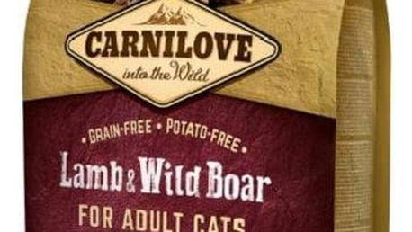 Brit Carnilove Cat Lamb & Wild Boar Adult Sterilised 6 kg