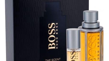 HUGO BOSS Boss The Scent 50 ml dárková kazeta pro muže toaletní voda 50 ml + toaletní voda 8 ml