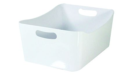 Bílý úložný box JOCCA Basket Big, 33x24cm