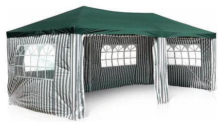 Garthen 399 Zahradní párty stan 3 x 6 m, zelený