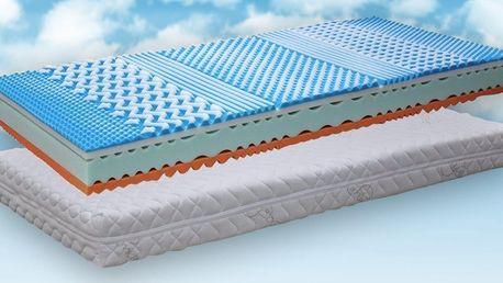 Matrace Soft Sleep® z paměťové pěny o výšce 20 cm