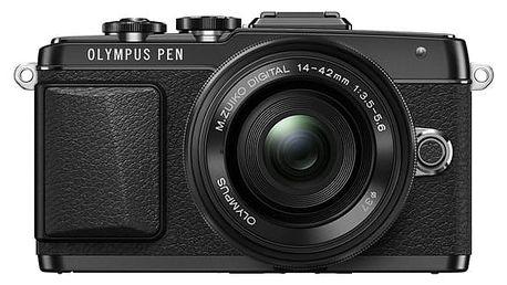 Digitální fotoaparát Olympus PEN E-PL7 + 14-42 Pancake Zoom černý