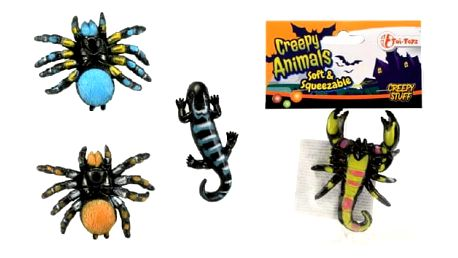 Děsivá havěť ze slizu Creepy Animals
