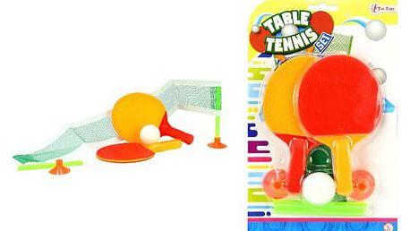Mini sada síťky a pálek na stolní tenis