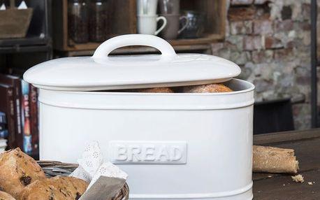 IB LAURSEN Porcelánový box Bread Pure white, bílá barva, keramika