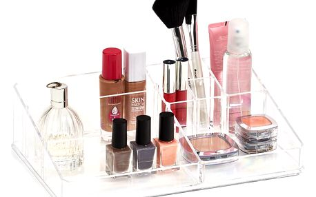 Organizér na kosmetiku, 9 přihrádek, ZELLER
