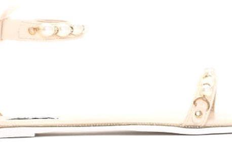 Dámské béžové sandály Mellinda 6110
