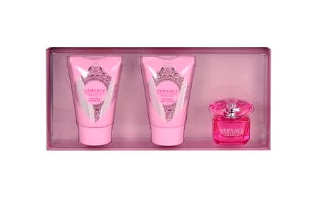 Versace Bright Crystal Absolu 5 ml dárková kazeta dárková sada pro ženy parfémovaná voda 5 ml + tělové mléko 25 ml + sprchový gel 25 ml