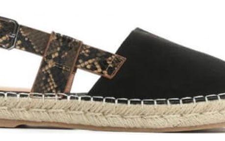Dámské černé sandály Bitta 8418
