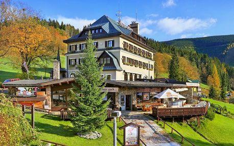 Hotel Praha**** ve Špindlu s wellness a polopenzí