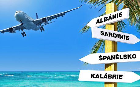 Červnové letenky do Itálie, Španělska a Albánie
