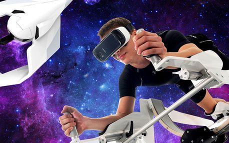 Létání či potápění ve virtuální realitě