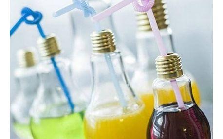 Sklenice na drinky Žárovka 250 ml