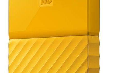 Western Digital My Passport 1TB (WDBYNN0010BYL-WESN) žlutý