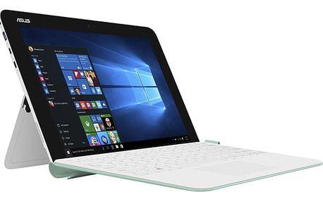 Dotykový tablet Asus Transformer Mini T102HA + stylus bílý/zelený + dárek (T102HA-GR044T)