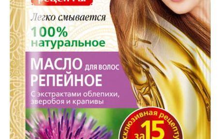 Přírodní lopuchový olej na vlasy 20 ml