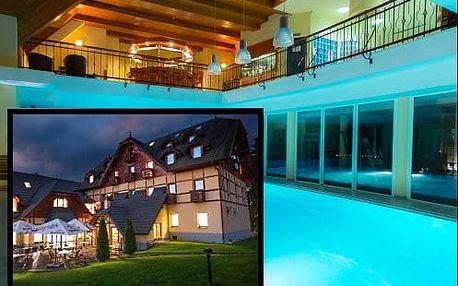 Krása Pienin na hranicích s Polskem. Neomezený wellness pobyt v rekreačním resortu Eland***+