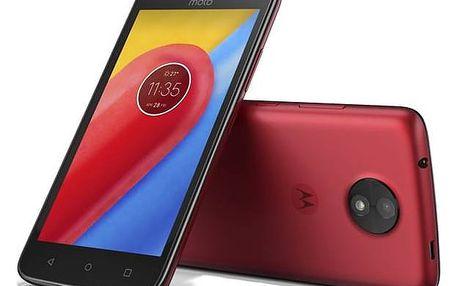 Motorola Moto C Dual SIM (PA6L0028CZ) červený