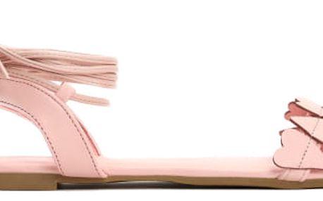 Dámské růžové sandály Hailee 6132