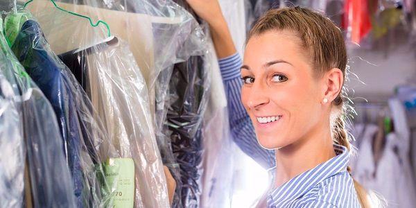 Voucher v hodnotě až 500 Kč na služby čistírny