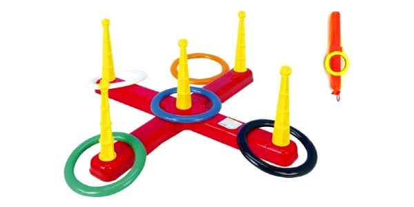 Zábavná hra Házení kroužků