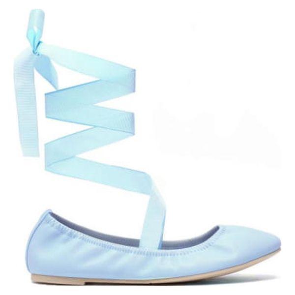Dámské modré baleríny Fanny 1173