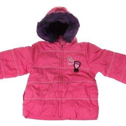 Dívčí zimní bunda Tokio růžová vel. 146