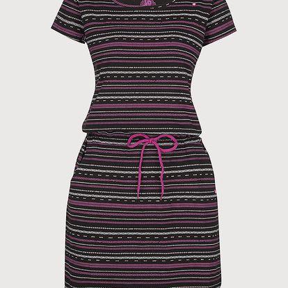 Šaty Loap Alecia Černá