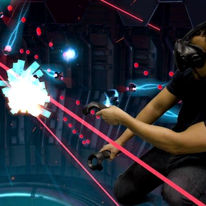 Hodina virtuální reality pro 1–4 osoby