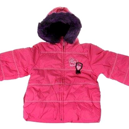 Dívčí zimní bunda Tokio růžová vel. 98