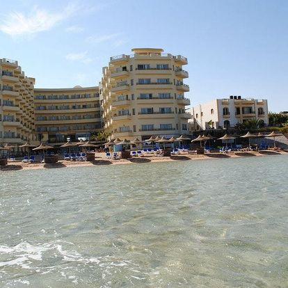 Egypt - Hurghada na 9 dní, all inclusive s dopravou letecky z Brna