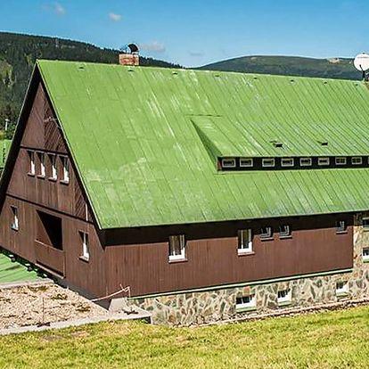 Pobyt v horské chatě na hřebenech Krkonoš