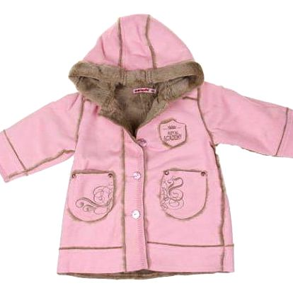 Kabátek růžový vel. 80