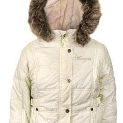 Dívčí zimní bunda světle žlutá vel. 110