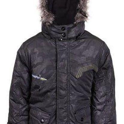 Chlapecká zimní bunda s kapucí s kožíškem vel. 92