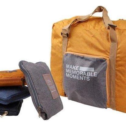 Skládací cestovní taška ExtraBag