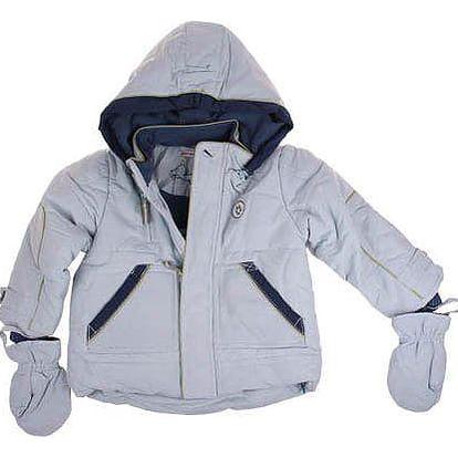 Dětská bunda včetně rukavic sv. modrá vel. 92