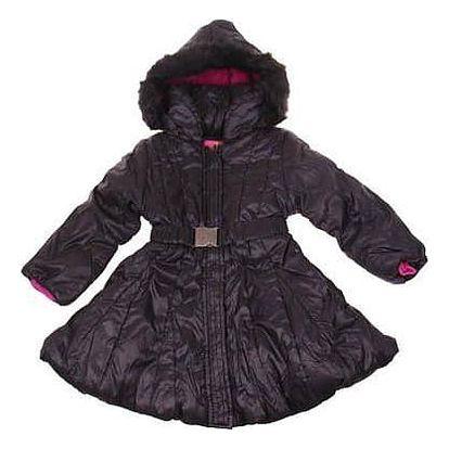 Dívčí zimní kabát černý vel. 92