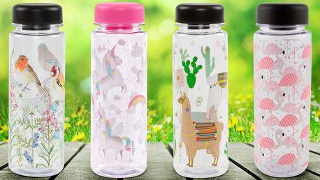 Designové lahve Sass & Belle o objemu 550 ml