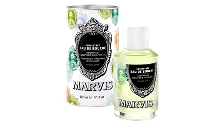 Marvis Strong Mint 120 ml ústní voda unisex