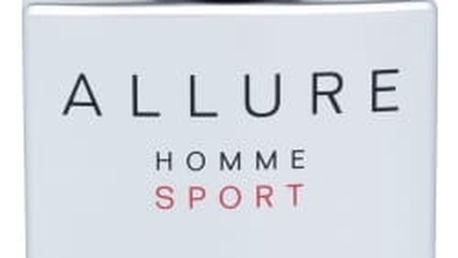 Chanel Allure Homme Sport 100 ml toaletní voda poškozená krabička pro muže