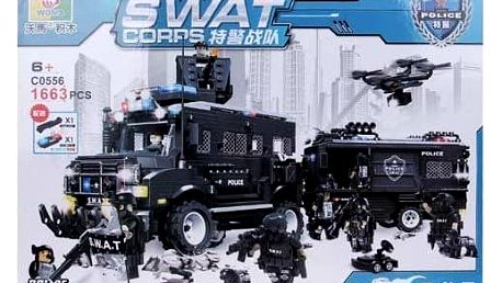 Stavebnice SWAT Police
