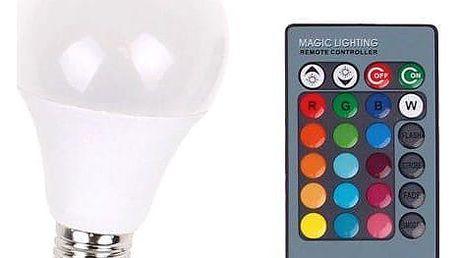 LED žárovka 2v1 White + RGB