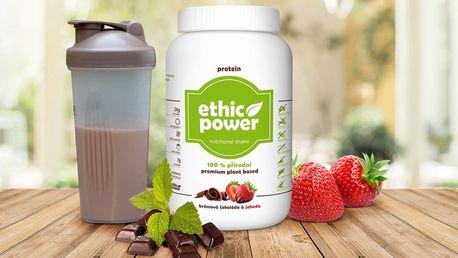 100% přírodní rostlinný protein EthicPower