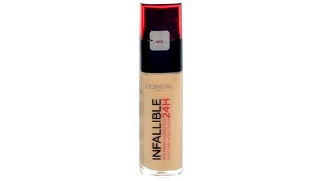 L´Oréal Paris Infallible 24h SPF18 30 ml makeup pro ženy 125 Natural Rose