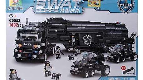 Stavebnice SWAT Kamion
