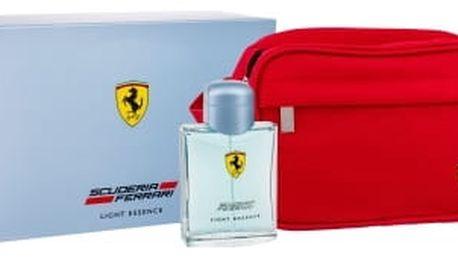 Ferrari Scuderia Ferrari Light Essence 125 ml dárková kazeta pro muže toaletní voda 125 ml + kosmetická taška