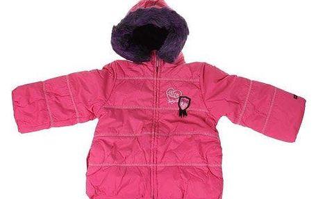 Dívčí zimní bunda Tokio růžová vel. 104