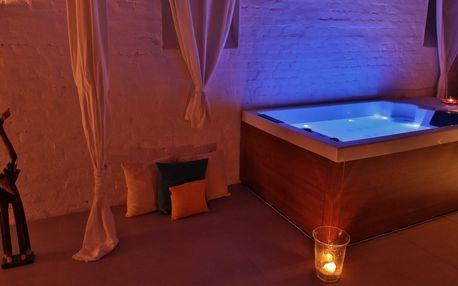 Privátní relax v infrasauně a hydromasážní vaně
